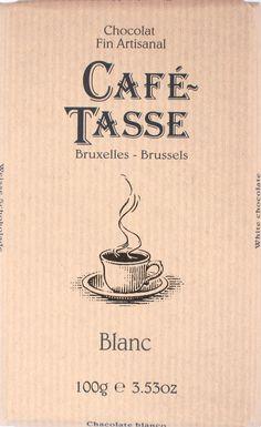 """Café-Tasse """"Blanc"""" Weiße Schokolade"""