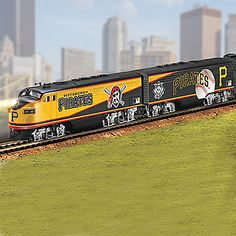 Pittsburgh Pirates Express Electric Train Collection
