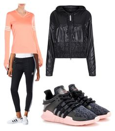 A fashion look from April 2017 featuring red t shirt, track pants and adidas originals shoes. Browse and shop related looks. Adidas Originals, Shoe Bag, Polyvore, Stuff To Buy, Shopping, Collection, Design, Women, Fashion