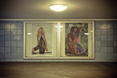 """Solo """"exhibition"""" in U-bahn Weinmeisterstrasse - Berlin  #streetart  #berlin"""
