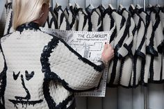 The Cloakroom at the V&A museum by Faye and Erica Toogood