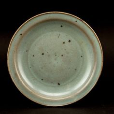 Very fine, nice Jun dish; hard to find; the interior black mark shows real Jin period glazed overall in the whole dish; Diameter: 18cm