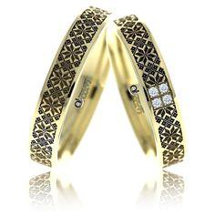 Verighete ATCOM Lux DOINITA aur galben Platinum Ring, Wedding Rings, Engagement Rings, Bracelets, Silver, Gold, Tie Knots, Jewelry, Bella