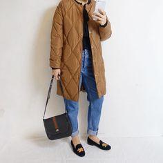 #Repost @asato00001  カミングスーン のコートです . だいぶ暖かめ ブラックと2 col . . #asatostore #キルトジャケット #着画 #着画くらぶ