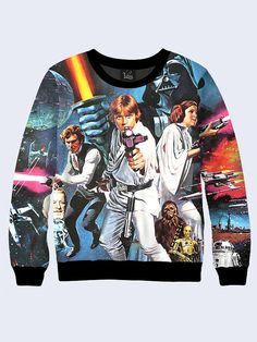 Star Wars Sweatshirt Sweatshirt for Women Womens by Rusmagazin