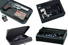 It is necessary for gun owners to have a safe. Small Gun Safe, Hand Guns, Good Things, Firearms, Pistols, Revolver