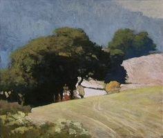 Marc Bohne Oil Landscape Painting - California