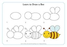 Learn to Draw a Bee
