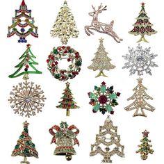 Weihnachtsbroschen jetzt neu im Shop:http://www.sander-tischwaesche.de/index.php?cPath=224