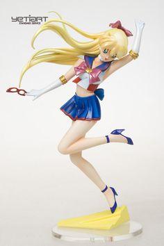 Sailor Venus with Glasses Hand Painted GK Figure