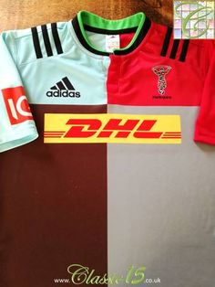 1cec940d609 2015/16 Harlequins Home Rugby Shirt (L). 9 GameRugby ShirtsRugby World Cup