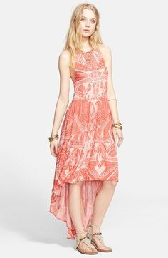 Free People 'La Mar' Print Dress available at #Nordstrom