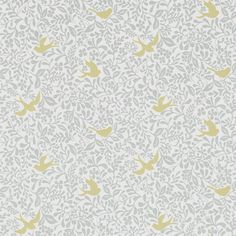 Sanderson - Traditional to contemporary, high quality designer fabrics and wallpapers | Products | British/UK Fabric and Wallpapers | Larksong (DPAV214761) | Papavera Wallpapers