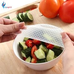 reusable silicone food Picture - More Detailed Picture about Multifunctional Food Fresh Keeping Saran Wrap Kitchen Tools Reusable Silicone Food Wraps Seal Vacuum Cover Lid Stretch Picture in Saran Wrap & Plastic Bags from Long Han Store Fresco, Kitchen Tools, Kitchen Gadgets, Kitchen Dining, Kitchen Supplies, Kitchen Stuff, Tapas, Reusable Food Wrap, Food Tasting