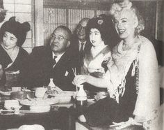 Février 1954 Marilyn et Joe au Japon - Divine Marilyn Monroe