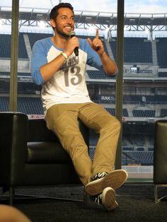 Zachary Levi Reveals Nerd HQ Crowdfunding Tactics | San Diego ...
