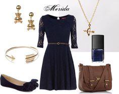Disney Princess Merida outfit