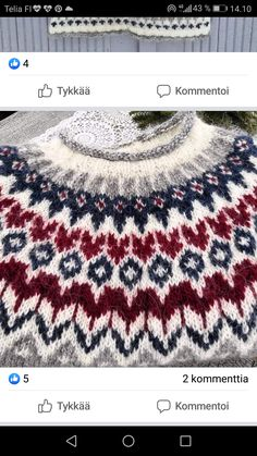 Fair Isle Knitting Patterns, Icelandic Sweaters, Jumpers, Knit Crochet, Cross Stitch, Fashion, Nightgown, Scrappy Quilts, Outfits