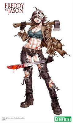 72 best bishoujo images on pinterest character design character horror bishoujo jason vorhees characters from marvel dc and famous horror movies have become gumiabroncs Images
