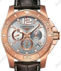 Longines | Hydro Conquest | Red Gold | Watch database watchtime.com