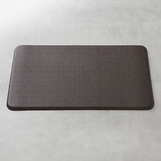 Cobblestone Espresso 36x20 Comfort Mat in Utility | Crate and Barrel