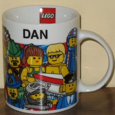 Know a DAN who loves LEGO? He'll love this Lego Orlando minifigure themed coffee mug!