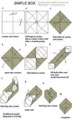 easy origami box - I used these and gave them as a handout for one of my YW lessons