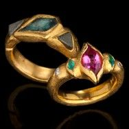 Our rings are cast then forged in fine gold .999