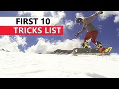 f3c2fb9e60a6 10 Snowboard Tricks to Learn First
