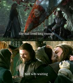 Ned Stark and catelyn stark Game Of Thrones Series, Got Game Of Thrones, Catlyn Stark, Eddard Stark, What Dreams May Come, Sean Bean, House Stark, Best Series, Game Of Thrones