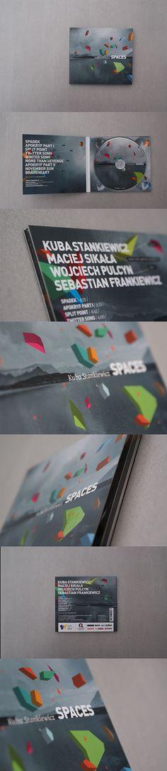 Kuba Stankiewicz SPACES / cover design on Behance