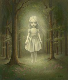 Ghost Girl, Mark Ryden. Pop surrealism rocks. :)