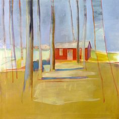 """Saatchi Art Artist Charlotte Evans; Painting, """"There's a Place Out West SOLD"""" #art"""