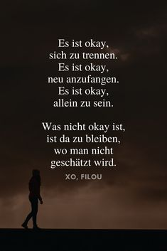Inspirational sayings about life & Inspirierende Sprüche über das Leben & die Liebe It& okay to split up. It& okay to start over. It& okay to be alone. What is not okay is to stay where you are not valued. Quotes For Your Crush, Crush Quotes For Him, Cute Love Quotes, Love Quotes For Him, Positive Quotes, Motivational Quotes, Inspirational Quotes, Funny Teenager Quotes, Quotes About Everything