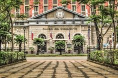 palacio del gobernador bldg. in intramuros , manila , philippines