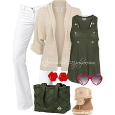 """Statement Sunglass and Maggie Bag"" by wishlist123 on Polyvore"