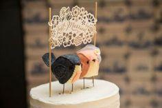 Bird Cake Topper Etsy Shop Cinnamonbirds | Emmaline Bride