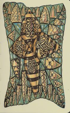 Pharaohs Sarcophogus by molossus, who says Life Imitates Doodles, via Flickr