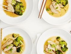 Pan-Steamed Chicken + Broccoli | A clean version of a Chinese take-out favorite