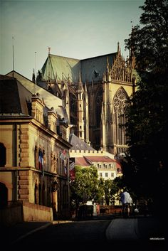 Metz cathedral, France.