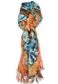 We love carrying these fun scarfs. || Brightly Twisted