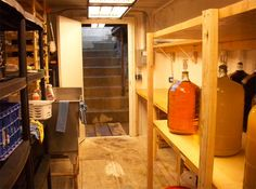 Shipping Container Makes an Amazing Underground Shelter/Wine Cellar