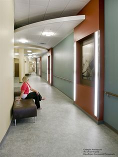 Mannington Commercial's Lacosta flooring at The Christ Hospital by Champlain Architecture.