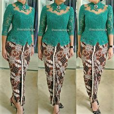 Fitting ... #kebaya #partydress #batik #lace #beads #lacelovers #verakebaya