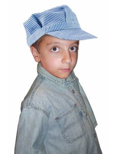 c1439f5f79645 Check out Child Deluxe Engineer Hat from Wholesale Halloween Costumes  Halloween Costume Hats