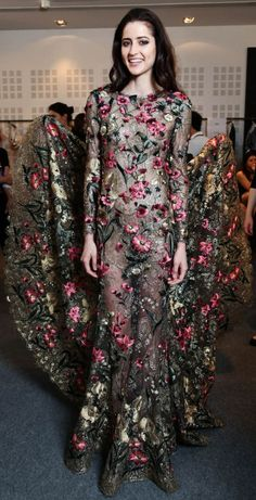 Backstage at Ralph & Russo Haute Couture Fall 2015-2016