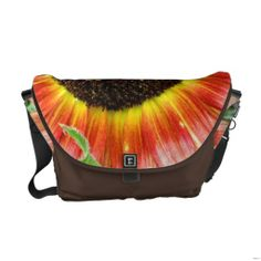 Sunflower Messenger Bag, Medium size