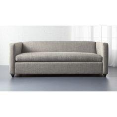 $1,499 movie queen sleeper sofa   CB2 Worried about size through door