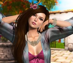 #secondlife Pearls and Silk - https://secondsocial.eu/pearls-and-silk/