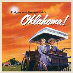 Oklahoma! My Grandma S. loved this show. I loved all the colorful gingham dress we made in the Music Circus costume dept for this show.
